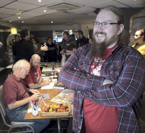 Øyvind Naterstad er festivalsjef for Raptus. Han er strålende fornøyd over å ha fått hit storheter som Don Rosa, Janry og mange andre tegneserietegnere. Nå håper han på en oppsving blant lesermassene også.