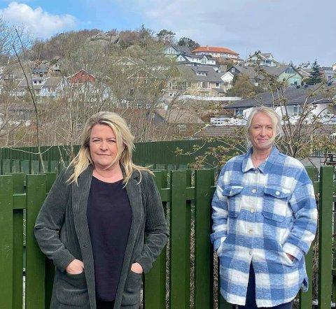 FELLES SAK: May Helen Hetland Ervik og Anja Hovland, gruppeleder for henholdsvis Frp og Høyre, ønsker at Eigersund skal søke om midler fra en statlig tilskuddsordning som gjør det mulig å organisere restaurantbesøk for hjemmeboende eldre.