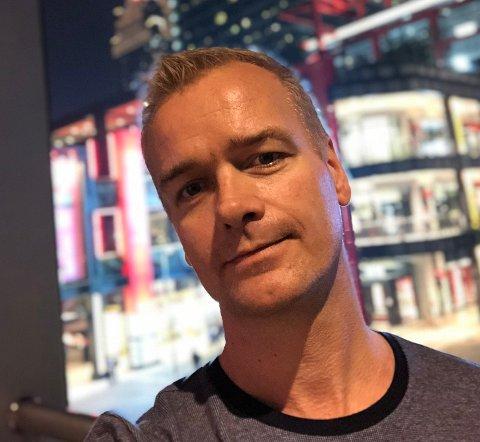 SATSER I HORTEN: Hans Martin Nakkim og kompanjongen Knut Hardang åpner pizzarestauranten Egoista i Vektergården om kort tid.