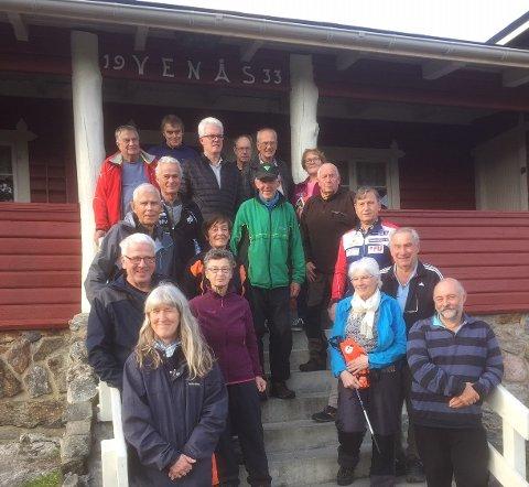 Fornøyde turorienterere på søndagens sesongavslutning på Venås.
