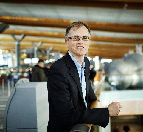 Gruppe: Torbjørn Lothe i NHO Luftfart. Pressefoto.