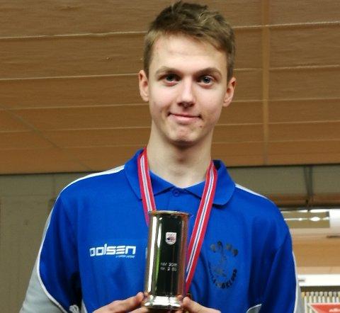Sølv: Max Østbergh presterte på høyt nivå i helgas NM.