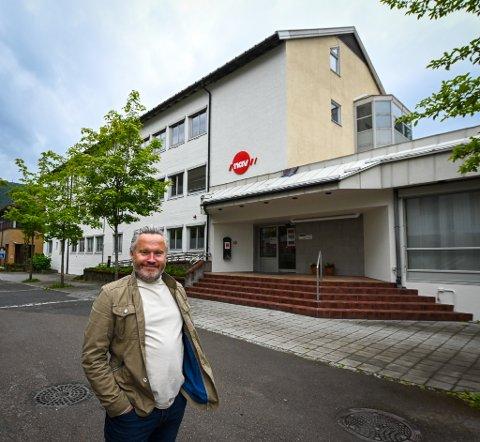 Zar eiendom og Roger Håkonsen pusser opp NAV-bygget i sentrum for flere millioner.