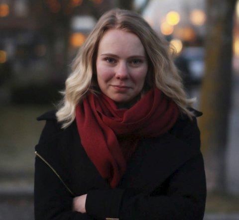 Jenny Lindseth Birkeland (18) har ikke selv hatt spiseforstyrrelser, men tror at kroppspresset delvis er medieskapt.