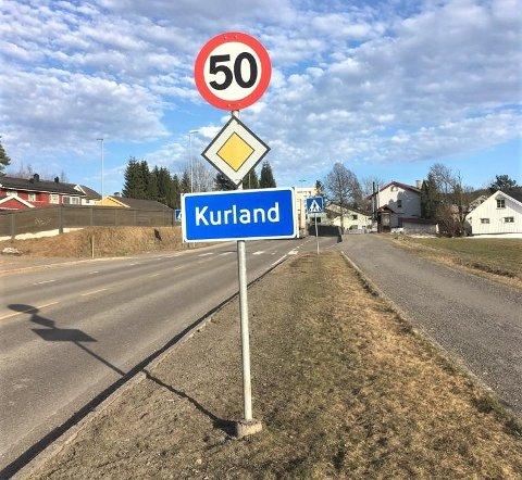 FEIL: Her har man ikke kommet til Kurland i Lørenskog, men Løvenstad i Rælingen.
