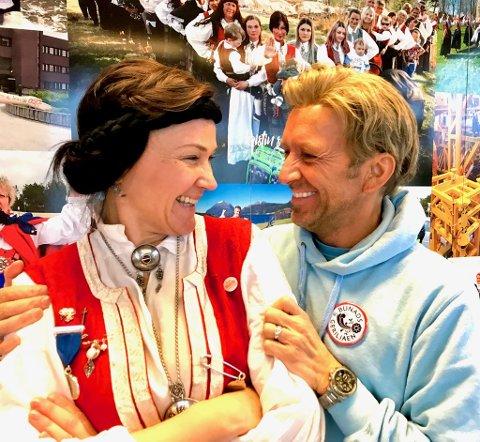 Heming støtter Bunadsgeriljaen - og snakker varmt om sin «rebelske venninne» Anja Cecilie Solvik.