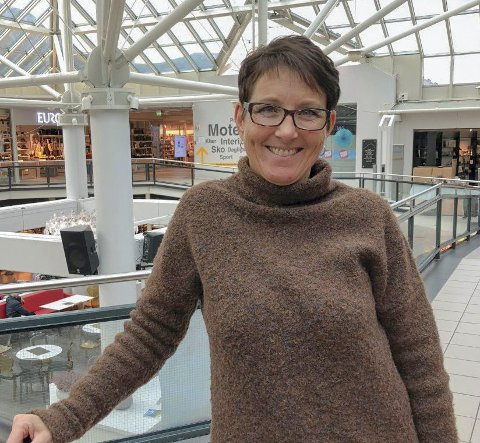 Sunndalsøra: Rita Fagerlie liker varme turer til Syden.