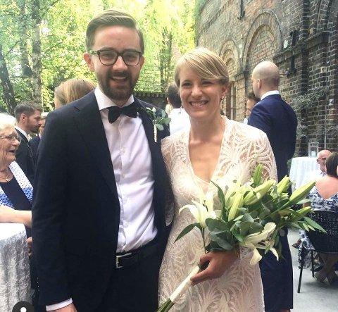Nyvalgt gruppeleder for Oslo SV, Ola Wolff Elvestad, giftet seg med Kari Elisabeth Kasi i 2018.