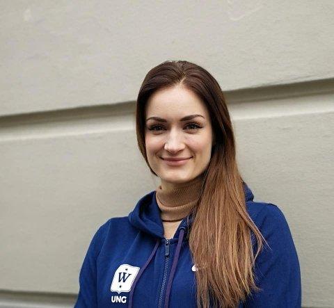 DRØBAKJENTE: Christina Vukicevic Demidov forteller at hun alltid vil være Drøbakjente og at hun gleder seg over ros fra det som er hennes hjemsted.