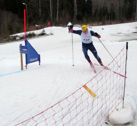 Markus Holmer fra Bjerkvik er klar for det første norgescuprennet på ski i 2017.