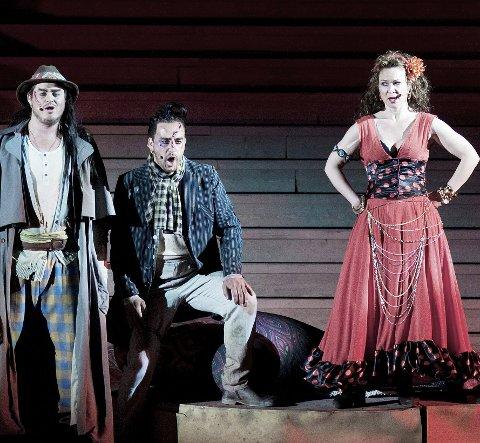 Carmen: Operaen Carmen ble satt opp i 2011. arkiv