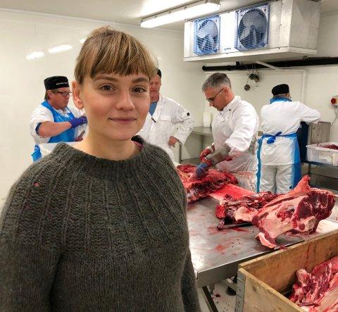 Kandidat: Astrid Regne Nässlander er den eneste fra Nord-Norge som er nominert til Coops miljøpris; Ãnglamarkprisen 2019.