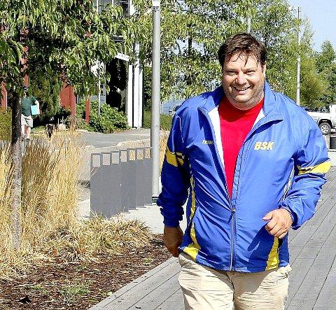 ER FORBEREDT: Yngve Mobråthen i BSKs o-gruppe har forberedt tirsdagens orienteringsløp i Holmestrand sentrum. Arkivfoto: Lars Ivar Hordnes