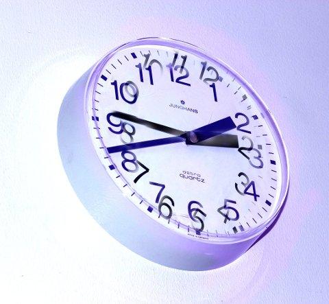 I natt kan ha vært siste gang du trengte å stille klokken Foto: Scanpix