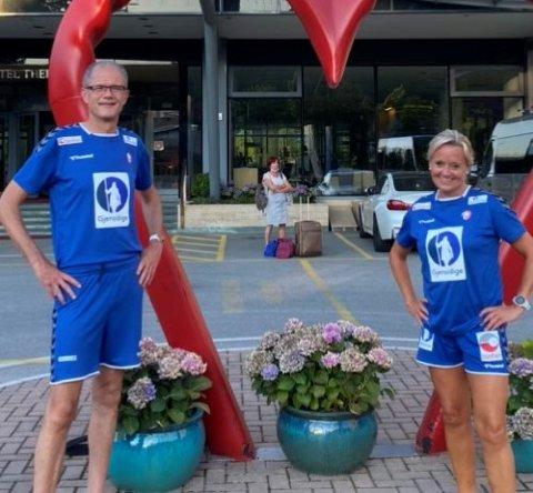 EM: Øyvind Indrebø og Oddny Sønnesyn har reist til Slovenia for å bidra under Europameisterskapet