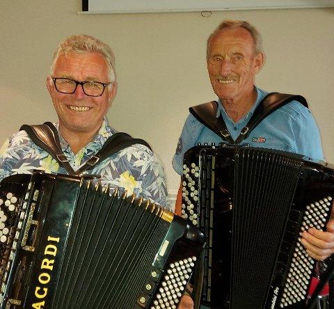 Initiativtakerne Aksel Dyrud og Narve Granberg