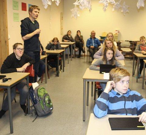 Nettbrett: Alle elevene i Sømna skal bruke iPad i undervisningen neste år.