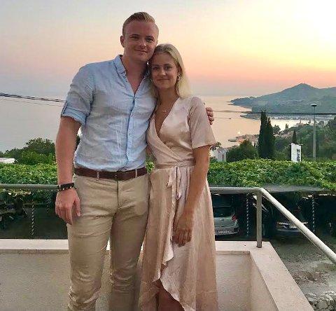 Viktor Nilsen bor i Uppsala utenfor Stockholm med Maria Nidsjö. Men de møttes et helt annet sted.