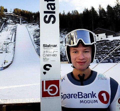 GLEDER SEG: Ole Kristian Baardset gleder seg til helgas to renn i Vikersund og de andre rennhelgene. Foto: Svein Halvor Moe