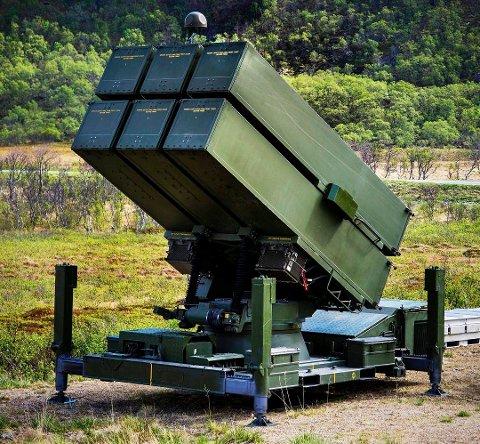 Kongsberg Gruppen er intervjuet som en del av arbeidet med Riksrevisjonens rapport. De selger blant annet NASAMS-utstyr til utlandet.