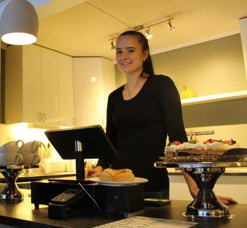 Mariell Eriksen hos Mer Café er koronasmittet.