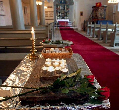 Begraves: Det var minnestund for avdøde Alexandra Therese Nilssen i Rygge kirke sist lørdag, fredag begraves hun fra samme sted.