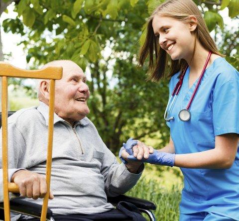 VIKTIG: Å kunne se tegn til endringer hos pasienten på et tidlig tidspunkt, og å kunne følge endringer over tid, er viktig for å begrense utvikling av akutt sykdom.Illustrasjonsfoto: Colourbox
