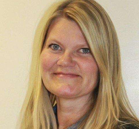 ANBEFALER: Anine B. Edvardsen fra biblioteket