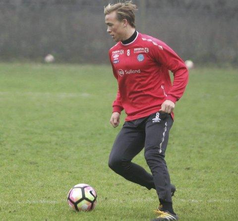 GLEDER SEG: Martin Skjelbreid Ellingsen og resten av KIL-mannskapet står foran sin største opplevelse, og utfordring, når Rosenborg venter i cupfinalen.