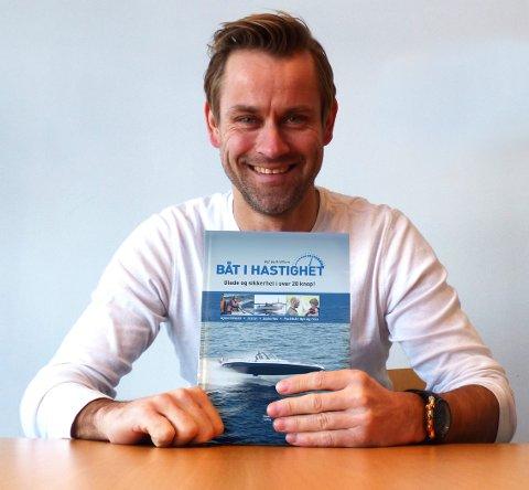 NY BOK: Sandefjords båtsportess, Pål Virik Nilsen, lanserer boka «Båt i hastighet» 14. mars.