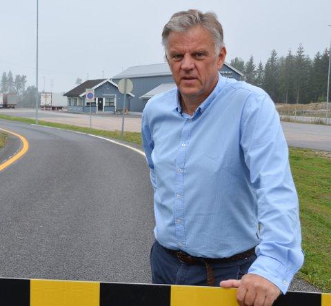 HAR KONTROLL: Vidar Østenby sier kommunen er forberedt på trafikken som måtte komme.