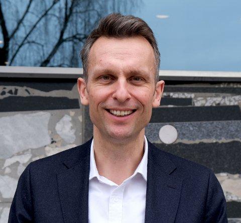 Knut Kroepelien, administrerende direktør Energi Norge.