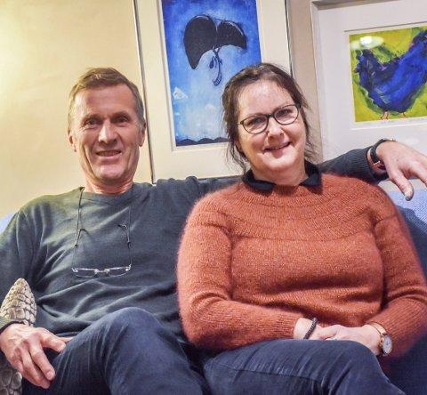 Gode sammen: Ivar Blix og kona Kari Jordahl er gode medspillere. Ivar sier at det la grunnlaget for at han kunne jobbe mye i tiden da han gjennomførte spesialiseringen sin.