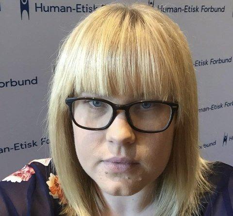 SPENT: Siri Berglia Hovind, konfirmasjonsansvarlig Modum og omegn.Pressefoto: