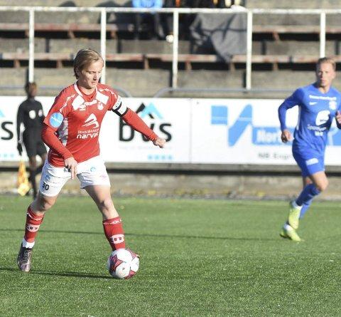 VIL HA SATSING: Mathias Nicolaisen mener Mjølner må jobbe for å komme tilbake til 2. divisjon på første forsøk.