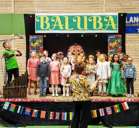 Populært: Første utgave av Baluba ble en suksess.