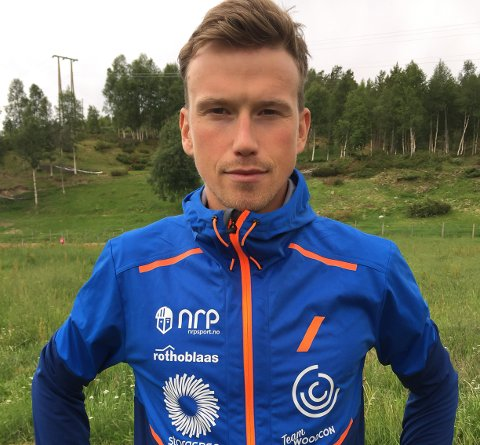 TØFFING: Aasmund Kjøllmoen Steien mener alvor når han skal krige seg gjennom 160 kilometer i Rondane i august.