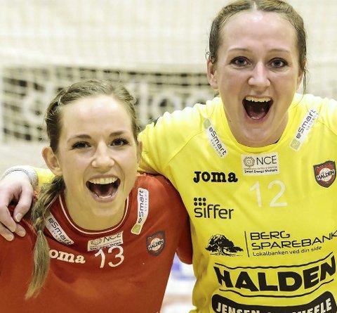 Dansk duo: – Hanne er lagets mamma, og også så god at hun vinner kamper på egenhånd. Vil bli savnet! sier Melanie Felber.