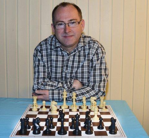 Fra Odda: Knut Steinar Bu, Folgefonn sjakklubb.