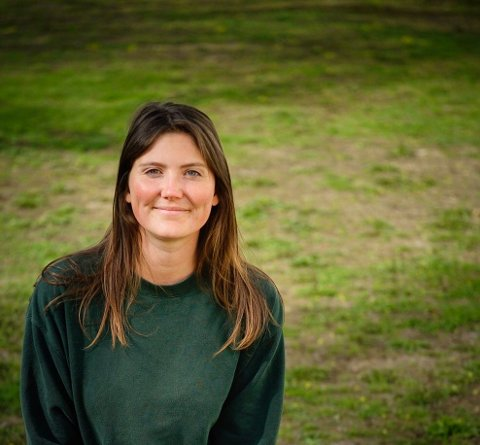 OPPTUR FOR MDG: Vilde Ingeborg Holtan Håvardsrud (25) har all grunn til å smile. MDG fikk med seg 3 representanter inn i kommunestyret under årets valg. Én mer enn først antatt og én flere enn i denne perioden.