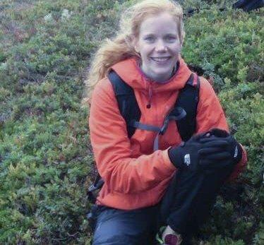 Nytt firma: Hanne Bain (28) har i nærmere to år jobbet som lege i Odda, men flytter det neste året til Sogndal, men legefirmaet sitt har hun registrert hjemme i Kabelvåg for kort tid siden. Privat foto