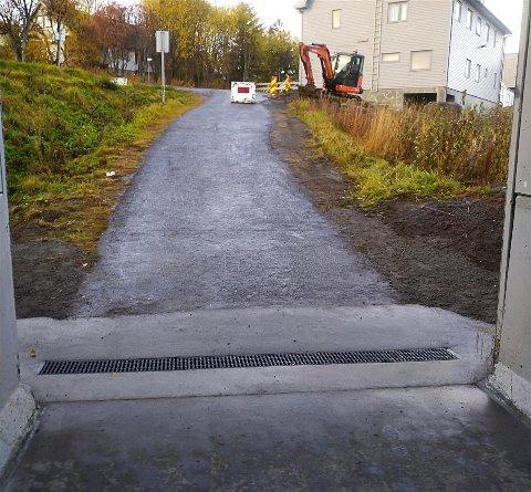 REPARERT: Kommunen handlet raskt etter enbekymringsmelding, om at slukristen i fotgjengerundergangen var ødelagt.