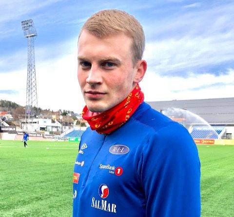 SKAL OPERERES: Ranheim-spiller Sondre Klingen Langås må belage seg på et lengre opphold fra fotballbanen.