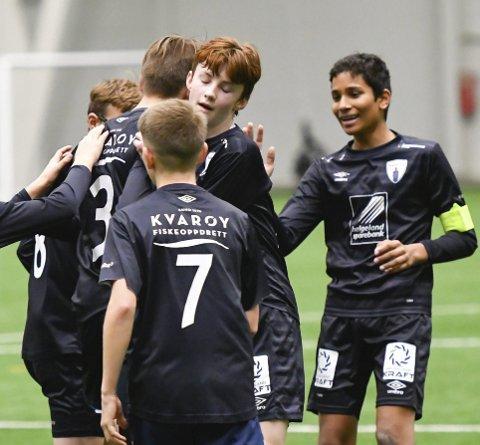 Se alle kretsfinalene til helga på ranablad.no. Da kan det blir mer jubel for G13-laget til Rana FK.