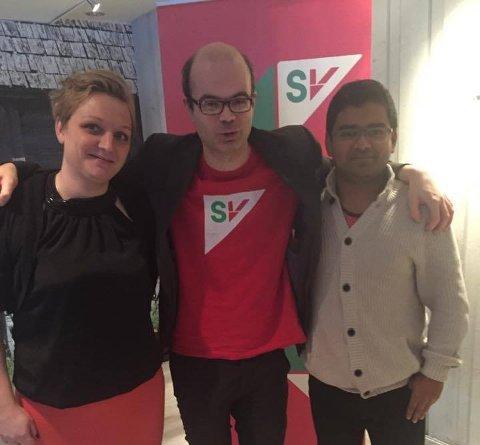 Lisbeth Fremstad Morewood, Hans Olav Lahlum og Mizanur Rahaman, som innehar de tre første plassene på lista.