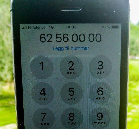 VINNERNUMMER: Mange har lagret dette nummeret. Blir du oppringt herfra, har du vunnet mye penger. Det gjelder en mann fra Hønefoss,som stakk av med millionpremie fra Norsk Tipping lørdag.
