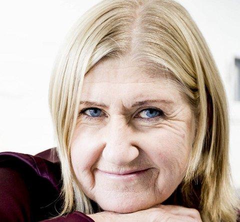 Anne Grete Preus bodde store deler av oppveksten på Skjetten