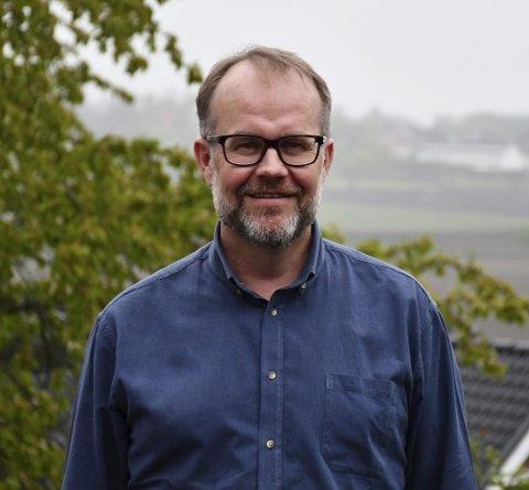 Første kandidaten til krf: Knut Vidar Hoholm fra Sande er ordførerkandidaten til KrF.