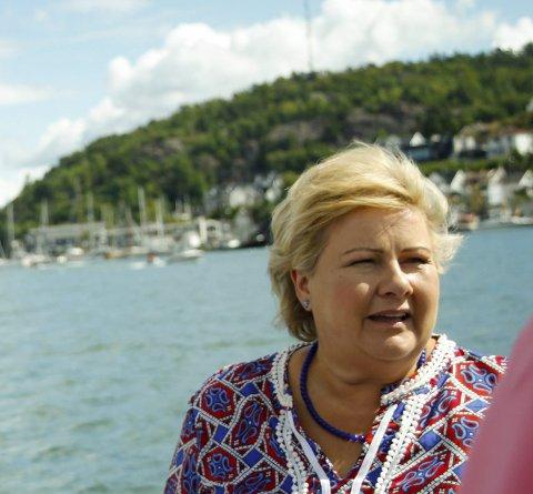 Sperregrense: Kommer Venstre over sperregrensen, kan de støtte en Erna Solberg-ledet regjering, skriver Karin Virik (V).