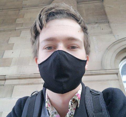 VERDSMETROPOL: Tor Einar Gudmestad bur i London, som har hatt «lockdown» fire gonger det siste året på grunn av korona.
